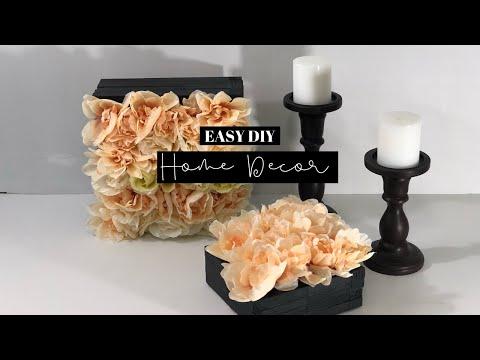 DIY Flower Box Decor