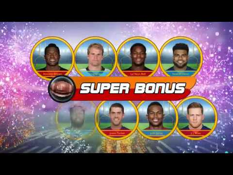 NFLPA Super Star Football Coins - The world's greatest football players in one cabinet!