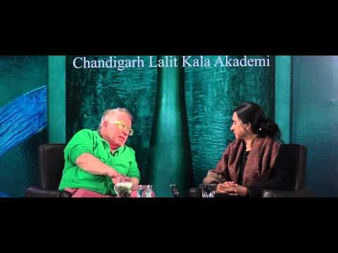 Peter Fink  Interview by Parul : Chandigarh Lalit Kala Akademi