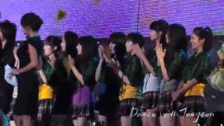 [Fancam] 081004 SNSD - Ending @ Asia Song Festival 2008