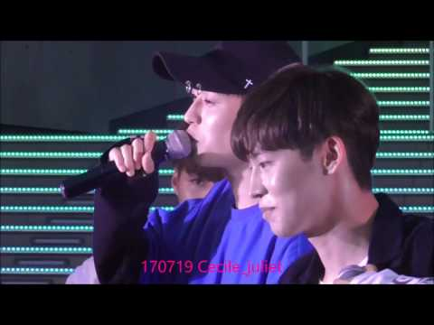 170719 ROMEO JAPAN DEBUT  'WITHOUT U' in Diver City Tokyo PartⅢ