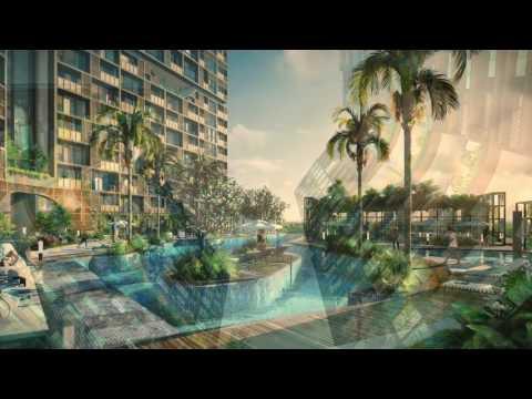 Architecture of Cambio Lofts Apartment is ADLab Singapore