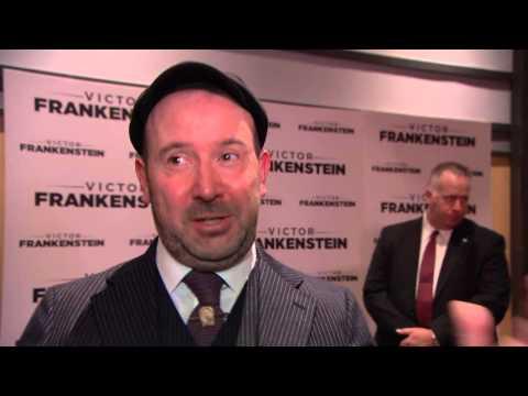 Victor Frankenstein: Director Paul McGuigan NYC Movie Premiere Interview