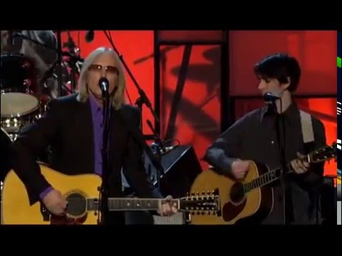 PRINCE, TOM PETTY, STEVE WINWOOD, JEFF LYNNE AND OTHERS  WHILE MY GUITAR GENTLY WEEPS VIDEO (dead)