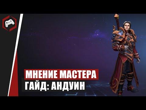 видео: МНЕНИЕ МАСТЕРА: «beselmonster» (Гайд - Андуин) | heroes of the storm