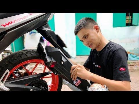 Thanh Niên độ dè Honda Winner 150 với 40k mượn