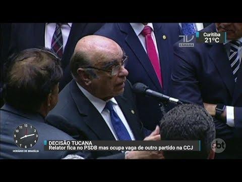 Bonifácio de Andrada continua como relator da denúncia contra Temer | SBT Brasil (05/10/17)