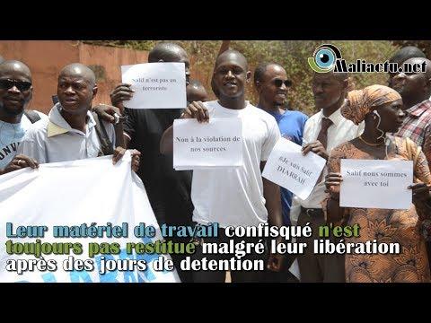 Liberté de la presse : les journalistes dénoncent les poursuites contre Mali Actu