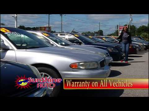 sunshine auto inc l used car dealership l buy here pay here l tallahassee fl youtube. Black Bedroom Furniture Sets. Home Design Ideas