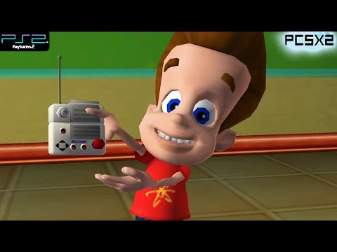 The Adventures of Jimmy Neutron Boy Genius: Attack of the Twonkies - PS2 Gameplay 1080p (PCSX2)