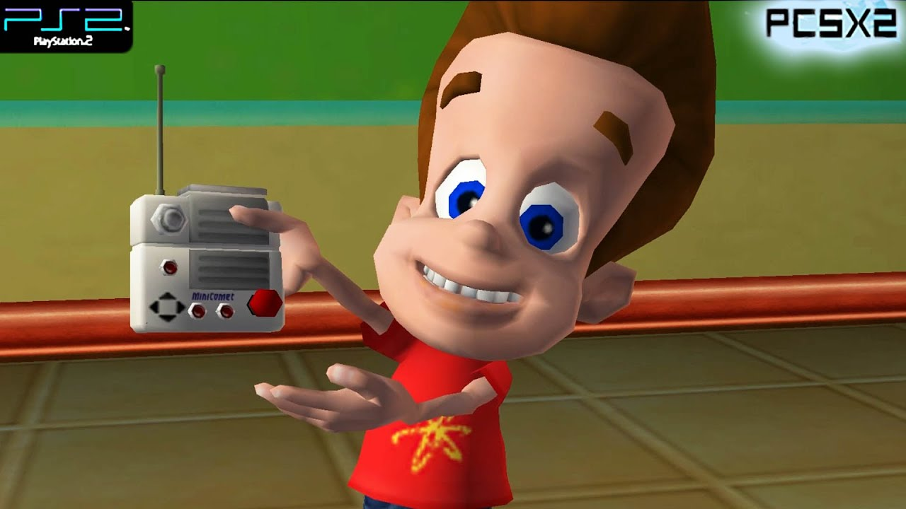 Download The Adventures of Jimmy Neutron Boy Genius: Attack of the Twonkies - PS2 Gameplay 1080p (PCSX2)