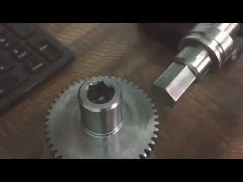 How It Made Rotary Broach Tool For Cnc Lathe.