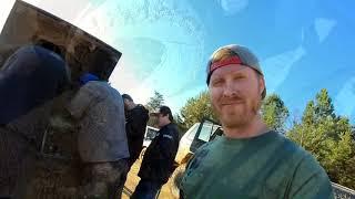 TOYOTA SINKS IN MUD BLOWS HEADGASKET | Breaking Vehicles at Stoney Lonesome