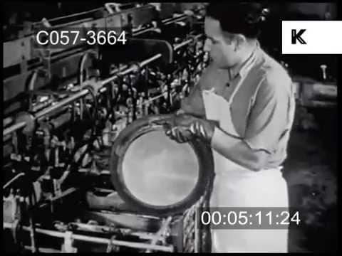 1940s Record Pressing Factory, Vinyl