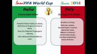 Italy Anthem Translated - Il Canto degli Italiani
