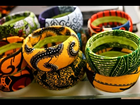 Bangle made of cloth and bottle,work experience