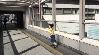 Tokyo Odaiba  東京 お台場【春風一番】(自然現象、異常気象、突風、つむじ風、季節風)#91うーまく〜たー君