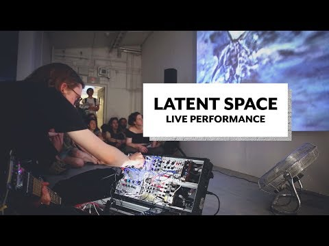 Performing Live with AI Art by Jake Elwes