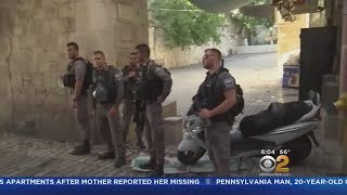 2 Israeli Officers Killed Near Jerusalem Holy Site