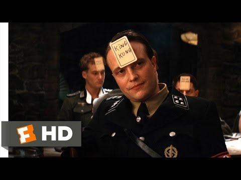 Inglourious Basterds (4/9) Movie CLIP - I Must Be King Kong (2009) HD