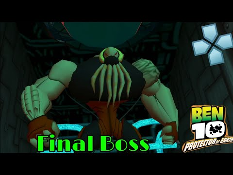 Ben 10 Protector Of Earth Part 18 The Merciless Final Boss PPSSPP Play On Android