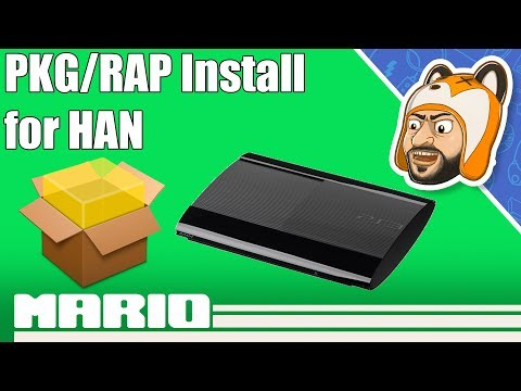 How To Install PKG/RAP Games On HAN | PS3Xploit V3 RIF Activation Tutorial