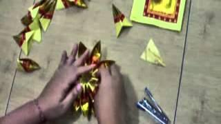 Cara Melipat Teratai Menggunakan Kertas Sembayang Metode 3