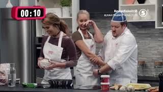 Komediakeittiö alkaa MAANANTAINA 21.00 TV5