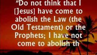 Christians MUST Follow Law of Old Testament!