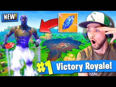*NEW* ANTI-GRAVITY CRYSTALS In Fortnite: Battle Royale! (Season 4)