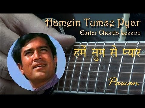 Hamein Tumse Pyar - Guitar Chords Lesson - Open & Barre, Full Track!