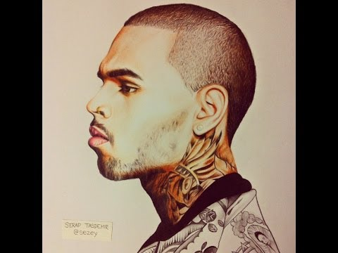 Chris brown drawing youtube chris brown drawing altavistaventures Images
