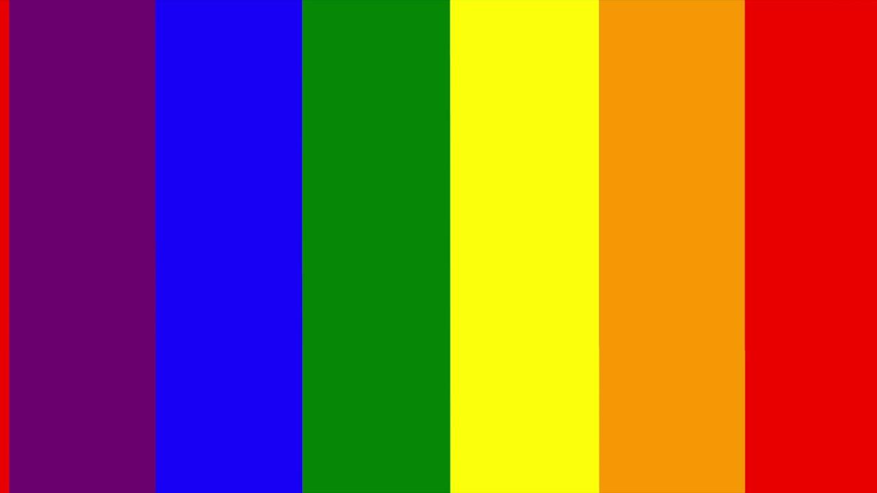 The Rainbow Flag Colors- 10 Hours