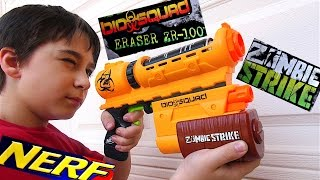 Nerf Biosquad ZR-100 Blaster with Robert-Andre!