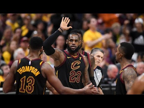 LeBron 44 Points Game 4! Celtics Blown Dunks! 2018 NBA Playoffs