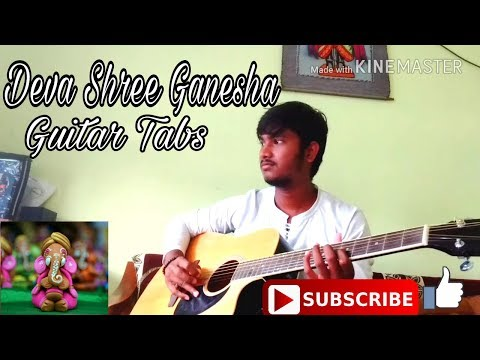 Deva Shree Ganesha Guitar Tabs | Agneepath | Ajay Atul | By Ketan Khapekar