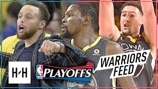 Kevin Durant & Klay Thompson Full Game 2 Highlights vs Spurs 2018 Playoffs - 63 Pts Combined