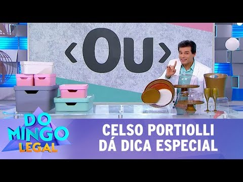 Celso Portiolli dá dica especial | Domingo Legal (03/12/17)