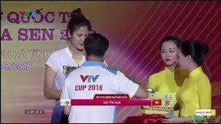 Trao giải thưởng cá nhân VTV Cup 2018