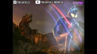 Ultraman dyna eps. 02 sub indo, vs giralen scene
