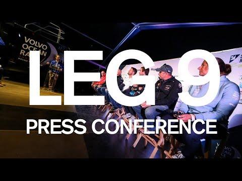 Leg 9 Start Press Conference - Newport | Volvo Ocean Race