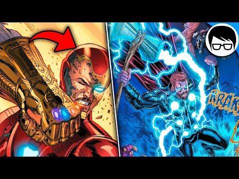 LA PELEA FINAL DE INFINITY WAR HECHA COMIC | Preludio Avengers Final