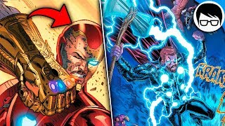LA PELEA FINAL DE INFINITY WAR HECHA COMIC   Preludio Avengers Final