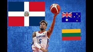 Dominicana (David )sueña con seguir haciendo Historia ante (Goliat) Australia y Lituania