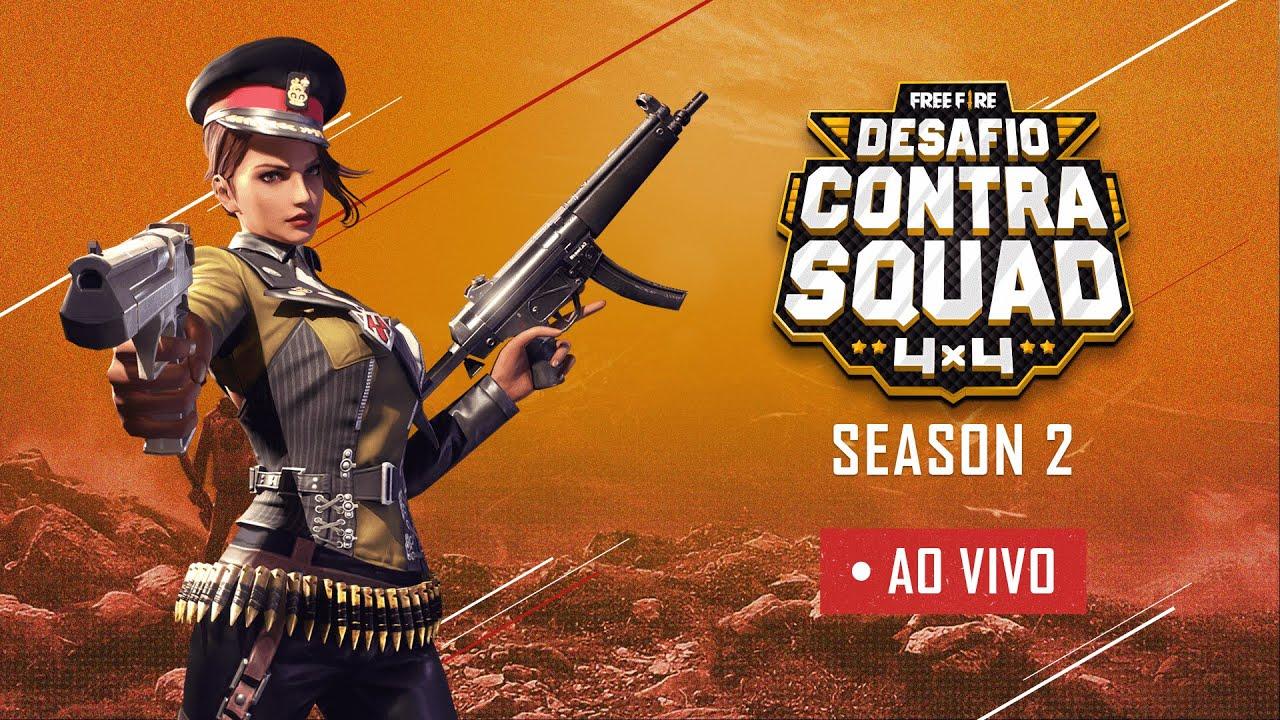 Desafio Contra Squad | Season 2 | Dia 1 | Free Fire