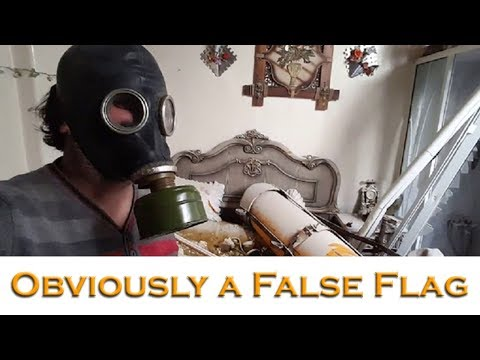 Syria gas attack in Douma is obviously a false flag event - Rebels had everything to gain
