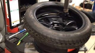 "Super Stretch Tires. Tire Stretch 7"" 155/70/15 Bbs Rs 