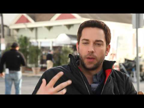 Cast Interview - Zachary Levi - Tell us about Alexis Bledel