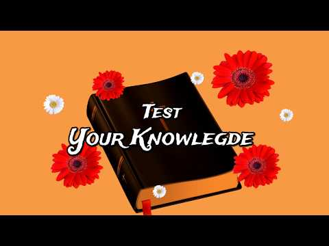 Bible Quiz    All Question Answer    Test Your Knowledge