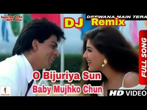 Hindi Old DJ Remix Songs // O Bijuriya Sun Bab mujhko Chun-(Udit Narayn)- English Babu Desi Mem